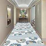XU FENG Alfombras para Pasillo Modernas Lavables Antideslizante Largas a Medida Impresión por Metros (Color : Blend, Size : 1×4m/3.3'×13.1'ft)