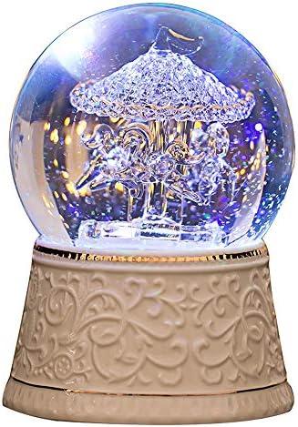 Carousel snow globe _image2