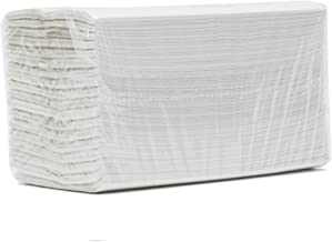 White Paper Hand Towels C FOLD 2 PLY Multi FOLD CASE of 2400 Paper Towels