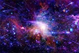 AOFOTO 7x5ft Dreamy Starry Sky Backdrop Cosmic Galaxy Photography Background Universe Nebula Kid Girl Boy Artistic Portrait Photo Shoot Studio Props Video Drop Wallpaper Drape