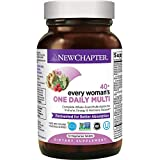 New Chapter Women's Multivitamin, Every Woman's One Daily 40+, Fermented with Probiotics + Vitamin D3 + B Vitamins + Organic Non-GMO Ingredients - 72 ct
