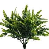 NAHUAA Artificial Boston Helechos 4pcs Arbustos Artificiales para Plantas para...