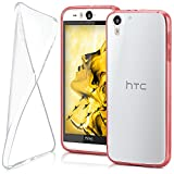MoEx® Ultra-Clear Case [Vollständig Transparent] passend für HTC Desire Eye | rutschfest & extrem dünn - Fast unsichtbar, Klar