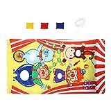 Tomaibaby Carnaval Clown Mezger juego bolsa de aricots lanzar, juguete mezclador de tela de fondo de pancartas de cumpleaños, festival Carnaval Parte, actividades para niños y adultos