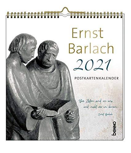Ernst Barlach 2021: Postkartenkalender: Der Postkarten-Kalender