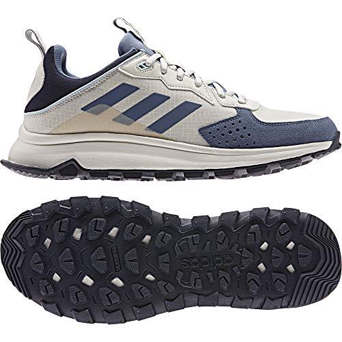 adidas Response Trail, Zapatillas de Running Hombre, Raw White/Tech Ink/Legend Ink, 40 2/3 EU