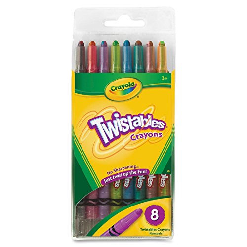 BIN527408 - Crayola Twistable Crayons