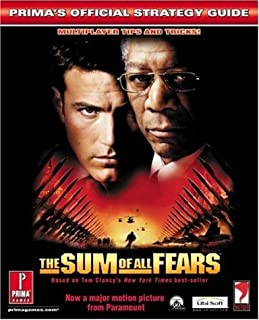 """Tom Clancy's """"Sum of All Fears"""": Official Strategy Guide"""