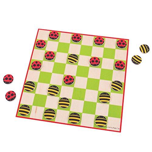 Bigjigs Toys Ladybird en Bee Concepten - Traditionele houten spel