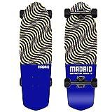 Madrid Picket 28.5' Cruiser Complete, Skateboard, Illusion Blue