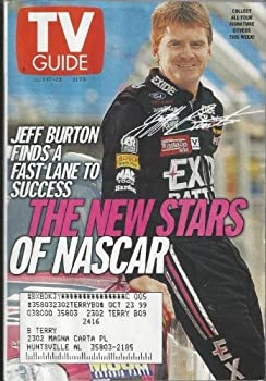 TV Guide July 17-23 1999  1 of 4 covers   Jeff Burton Finds a Fast Lane to Success  The New Stars of NASCAR  Red Hot & Blue  Leading Men Come and Go But NYPD Blue s Amazing Dennis Franz is a Survivor  Woodstock  99 Lineup  Rocker Sheryl Crow Knows How To Have Some Fun Volume 47 No 29 Issue #2416