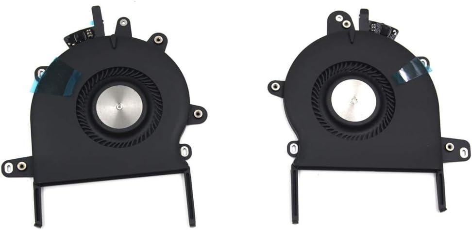 OLVINS Ventiladores de refrigeración Izquierda y Derecha de CPU de Repuesto para MacBook Pro 13