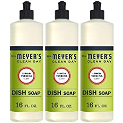 Cuts through grease while keeping dishes clean and bright Contains plant derived cleaning ingredients to make grease disappear Biodegradable dish soap designed for hand washing dishes, pots, and pans Garden fresh lemon verbena has a light, refreshing...