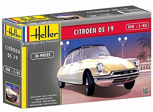 Heller - 80162 - Construction Et Maquettes - Citroen Ds 19 - Echelle 1/43ème