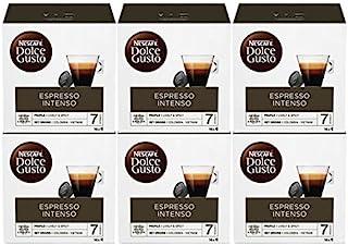 Dolce Gusto Nescafé Espresso Intenso 16 par Paquet - Paquet de 6