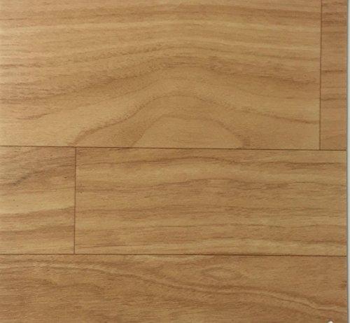 PVC Vinyl-Bodenbelag in Eiche-Honig-Optik   CV PVC-Belag verfügbar in der Breite 200 cm & Länge 400 cm   CV-Boden wird in benötigter Größe als Meterware geliefert   rutschhemmend & robust