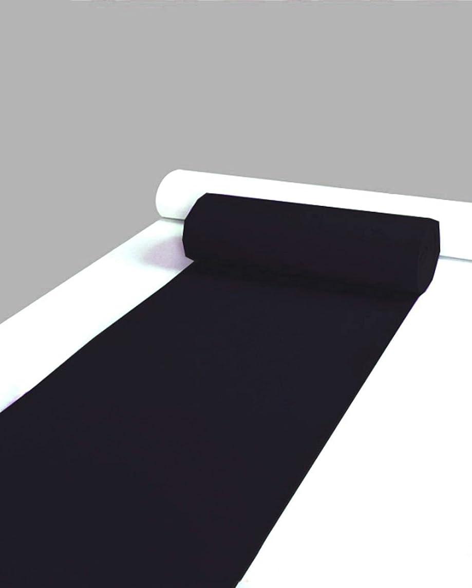 影響力のあるアサートスリップシューズZENGAI ブラックカーペット、ホワイトウェディングマットのワンタイム使用、カーペット1?50メートルの全量の開会式の結婚式のレイアウト ( 色 : ブラック , サイズ さいず : 1.0*10m )