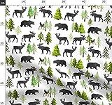 Bäume, Kiefern, Waldkindergarten, Bär, Elch, Hirsch