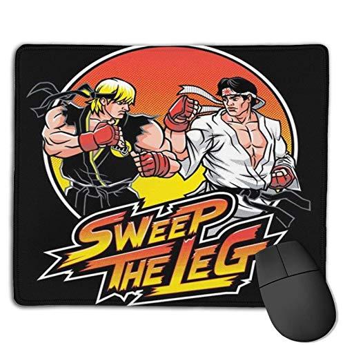 Sweep The Leg Non-Slip Rubber Base GamingAlfombrilla de ratón para Gaming for Mac,30cm×25cm Pc, Computers.