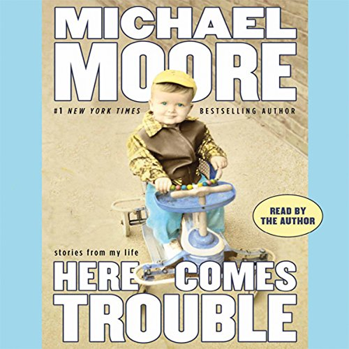 Here Comes Trouble audiobook cover art