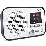 Pure Elan BT3 Digitalradio (DAB/DAB+ Digital und UKW-Radio mit Bluetooth, Weckfunktionen, Küchen- und Sleep-Timer, 2,8-Zoll-TFT-Farbdisplay, 40 Senderspeicherplätze, Streaming, AUX), Slate Blau
