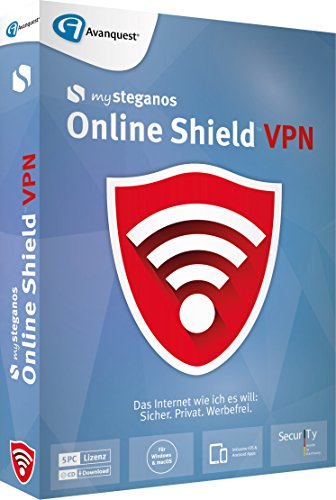 mySteganos Online Shield VPN - für PC, Mac, Android und iOS!