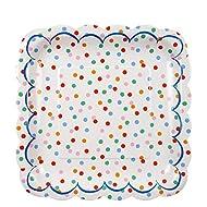 Meri Meri, Spotty Plates, Birthday, Party Supplies - Large