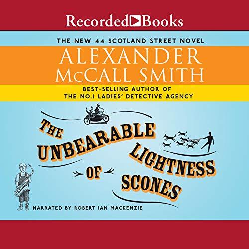 Unbearable Lightness of Scones audiobook cover art