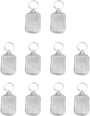 Amazon.com: Jili en línea 10pieces cuadrado, transparente ...