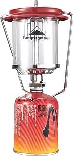 キャンピングムーン(CAMPING MOON) ダブルマントル ガスランタン 140LUX 収納パック マントル6枚付 圧力点火装置 T-8 CB缶変換アダプター付 取扱説明書付