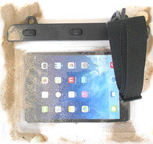 PRESKIN - Wasserfeste Taschen bis 8.0'' Zoll Bildschirm, wasserdichte Tablet Schutzhülle (Beachbag8.0 Clear) / PC Hülle mit Touchscreen Funktion wie Schutzfolie/Bildschirmfolie, Tablethülle Waterproof