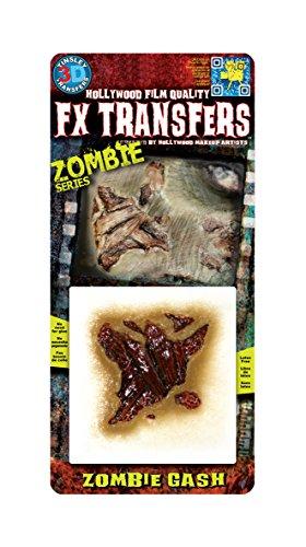Chaks FXTS-704, Transfert 3D zombie Gash, Balafre