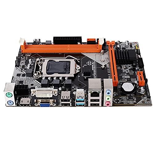 Placa Base B75 M.2 Interfaz NVNE LGA 1155 Pin Desktop G1620 4G 120G Placa Base de Doble Canal para i3 i5 i7 CPU DDR3 Memoria
