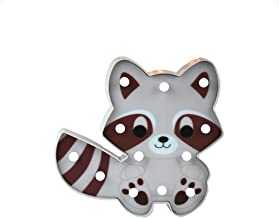 Glintee Coati Night Light for Kids Cute Animal Baby Nursery Lamp Raccoon Marquee Sign Battery Operated Bedside Lamp for Children Gifts Home Bedroom Party Decoration (Coati)