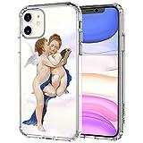 MOSNOVO iPhone 11 Hülle, Böse Augen Muster TPU Bumper mit Hart Plastik Hülle Durchsichtig...
