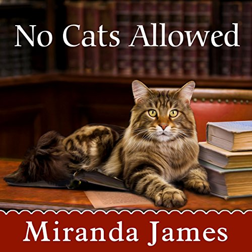 No Cats Allowed audiobook cover art