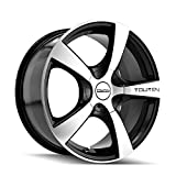 xd rims 17x10 - Touren TR9 3190 Black Wheel with Machined Face (17x7