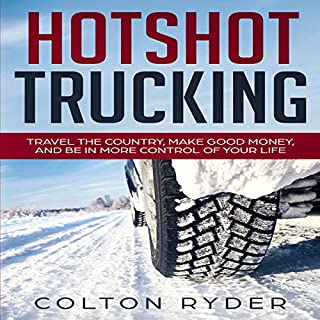 Hotshot Trucking audiobook cover art