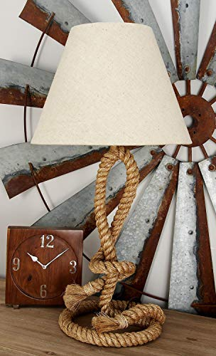 Modern Home Nautical Pier Rope Table Lamp - Medium