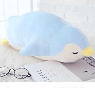 DongCrystal 19.6 Inches Penguin Plush Stuffed Animal Soft Toy Blue