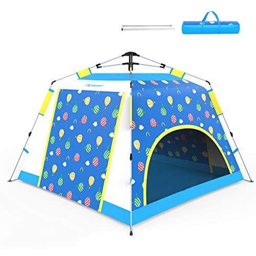 Pop Up Tent - Automatische Instant Tent - Portable Cabana Beach Tent - geschikt for 4 personen - Ramen en deuren aan beide zijden - Waterdicht, UV-bescherming tegen de zon Shelter for Outdoor Jagen, w