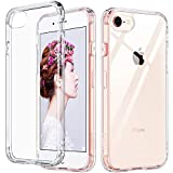 ULAK Slim Ultra Clear iPhone 8 Case, iPhone SE Case 2020, iPhone 7 Case 4.7 Inch, Hybrid TPU Shock-Absorption Anti-Scratch Bumper Hard Back Cover for New iPhone SE/iPhone 8/7 (HD Crystal Clear)