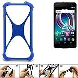 K-S-Trade® Handyhülle Für Alcatel Idol 5S Silikon Schutz