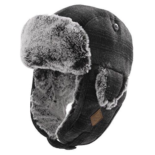 SIGGI - Cappello aviatore - Uomo 89079_Grau Medium