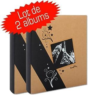 Ceanothe 721942 Album Photo Pochettes Mila Taupe 24 Photos 11,5X15