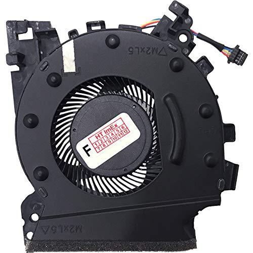 Ventilador de refrigeración para CPU compatible con HP ZBook 15v G5 (4QH40EA), 15v G5 (4QH79EA), 15v G5 (2ZC56EA), 15v G5 (4QH80EA)