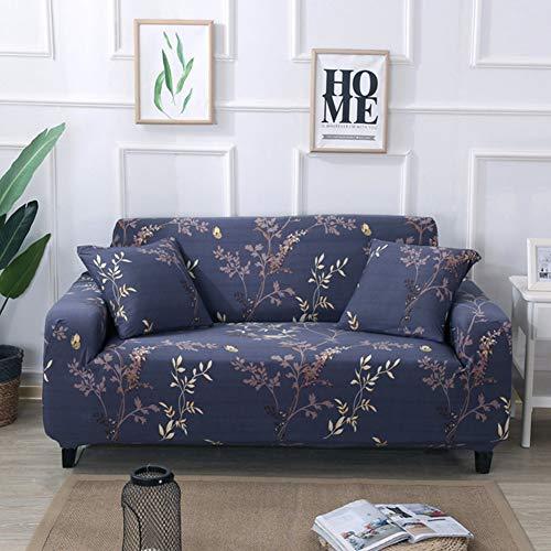 QYN Elástico Cubre Sofá para, Apretado Todo-Incluso Anti-Slip Funda De Sofá Cuatro Estaciones Universal Simple Muebles Protector para Sala De Estar-s 3 Plazas