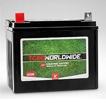 Sealed U1 Battery with NB Terminal Riding Lawn Mower Garden Tractor 1yr Warranty