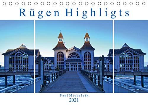 Rügen Highlights (Tischkalender 2021 DIN A5 quer)