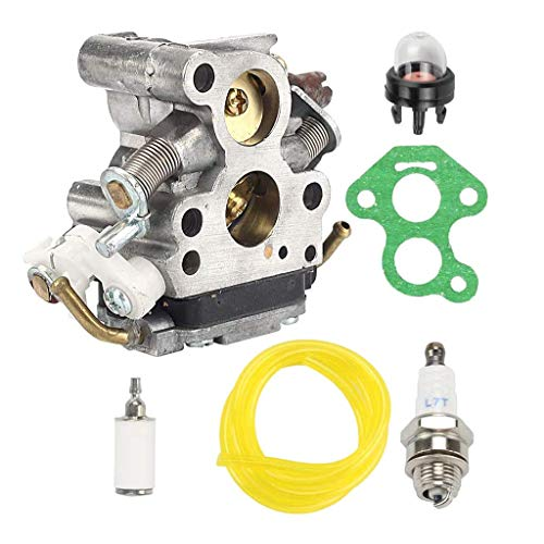FEIFUSHIDIAN Reemplazo Conjunto del carburador, Zama C1T-EL41 carburador 435 435E 440 440E Motosierra Jonsered CS2240 CS2240S Gasolina Cortasetos Kit del carburador Piezas de Repuesto Presión